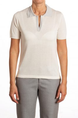 woman polo shirt
